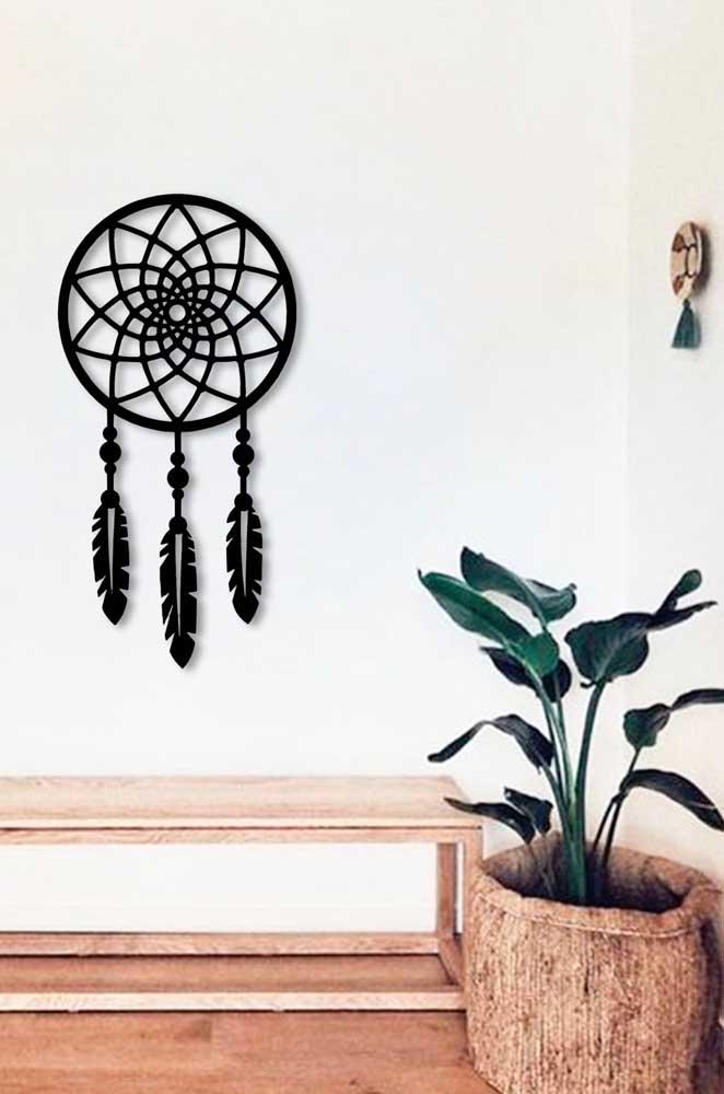 Filtro dos sonhos em formato de Flor de Lótus