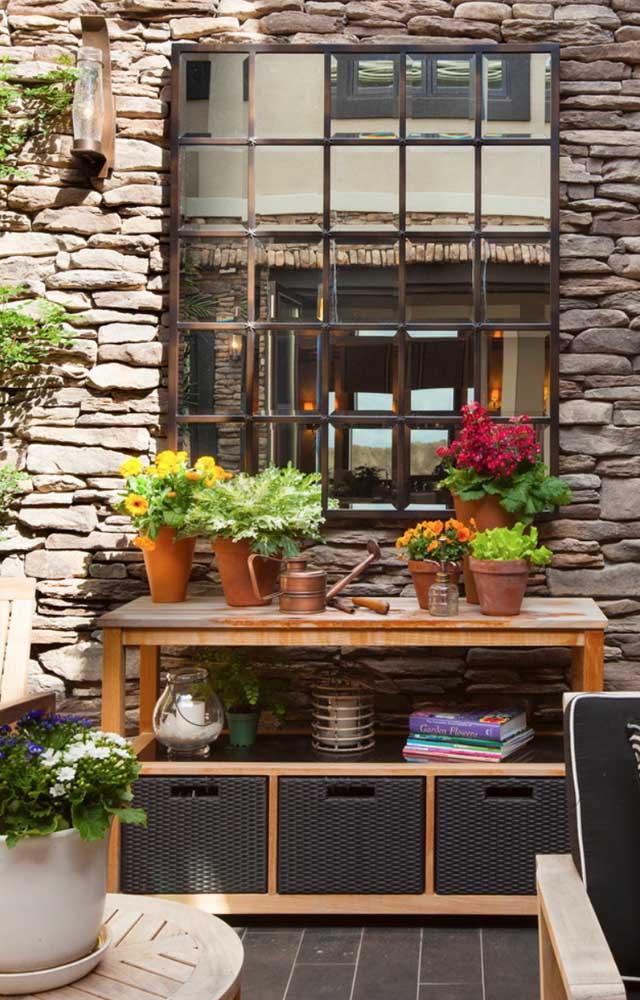 Kalanchoes para decorar a área externa rústica da casa