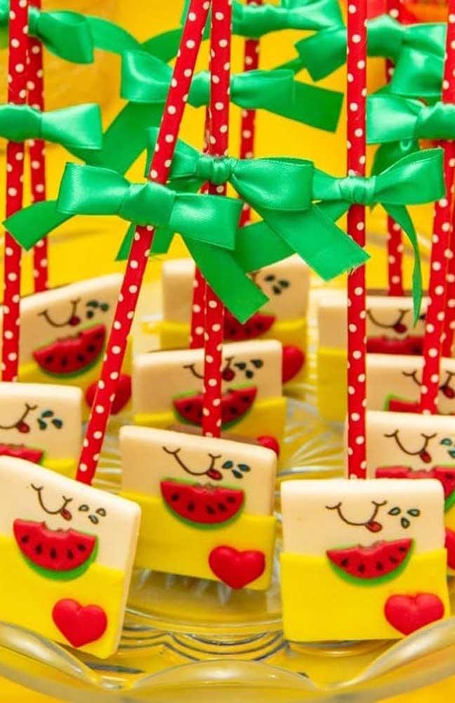 Biscoitos personalizados para festa da Magali