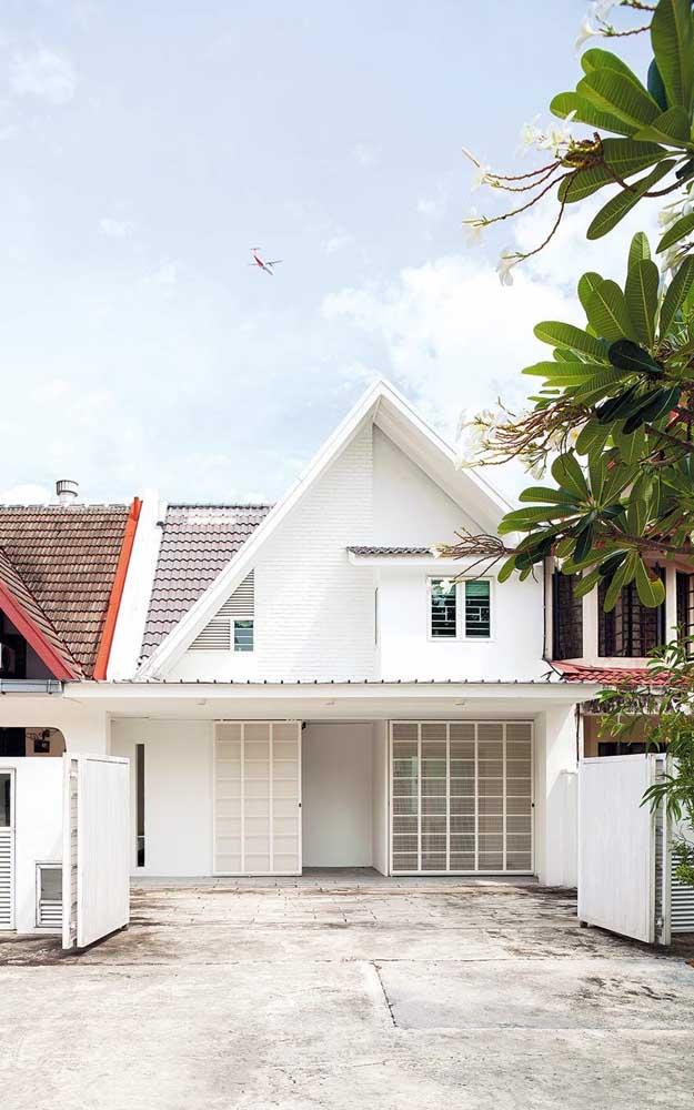 Inspiração de casa de alvenaria pequena, simples e bonita, como muita gente sonha