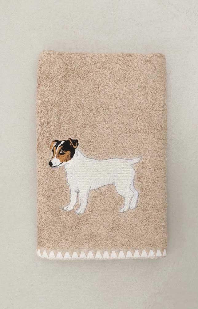 Para quem ama um pet, essa é a toalha perfeita!