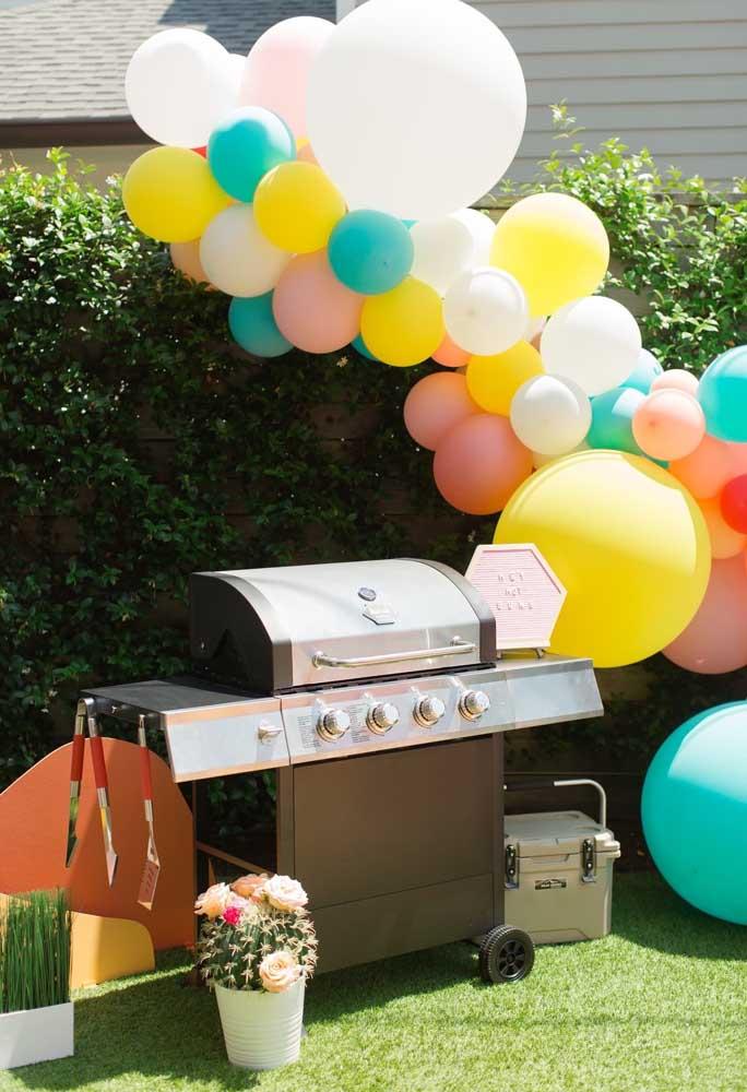 Que tal preparar um churrasco para os seus convidados da pool party?