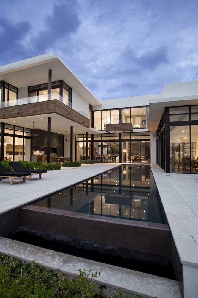 Sofisticação, elegância e refinamento são características sempre presentes nas mansões