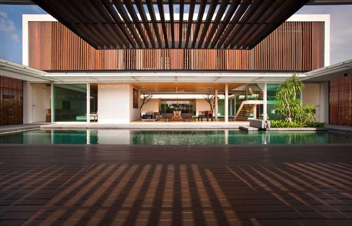 Integração é a palavra de ordem quando o assunto é projetos de mansões modernas