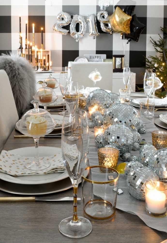 O que não faltam são ideias para ceia de ano novo no estilo mais sofisticado e luxuoso.