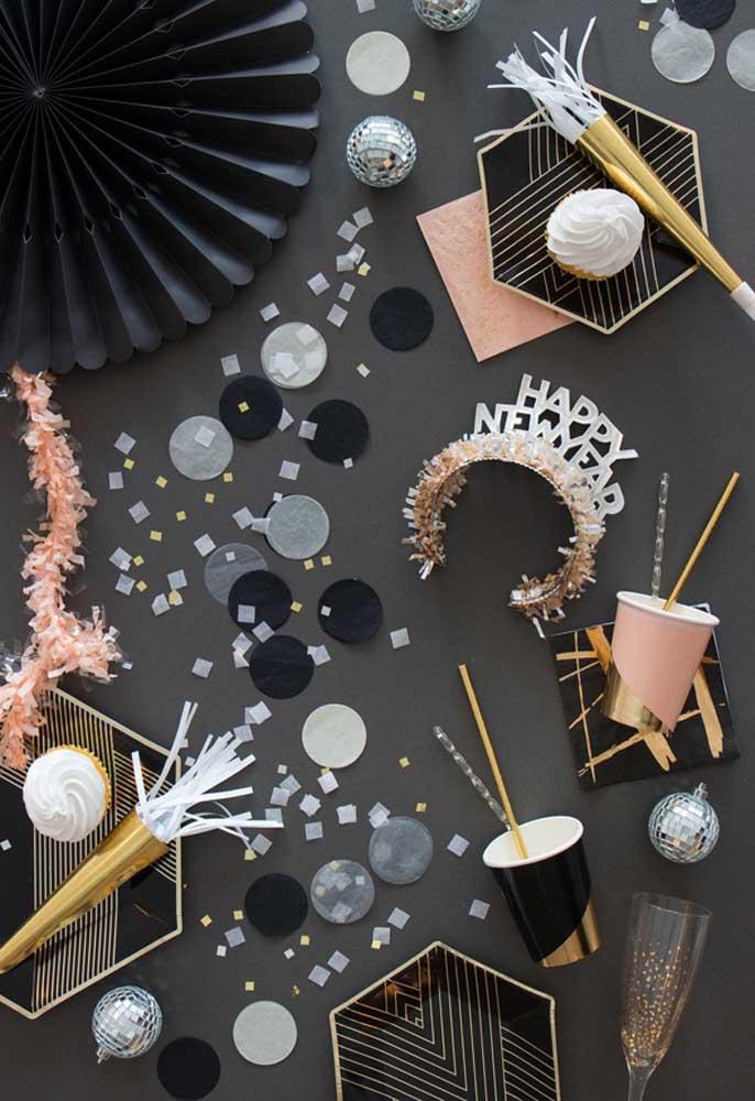 Que tal fazer uma decoração completamente diferente para a ceia de ano novo?