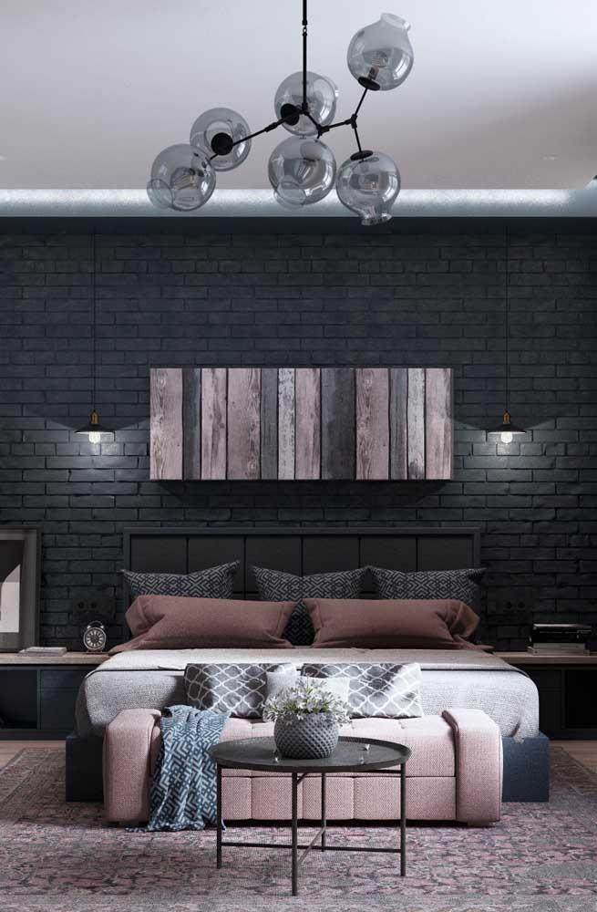 Os tijolos ecológicos recebem bem qualquer cor e com isso acabam se encaixando em diferentes propostas de decoração