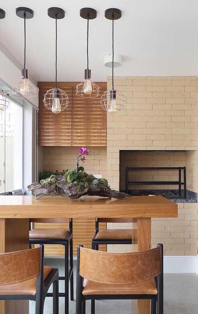 Os tijolos ecológicos também podem ser usados para a construção de churrasqueiras e fornos a lenha