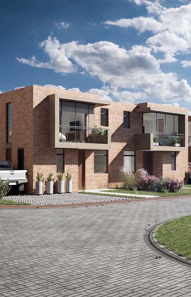 Seja qual for o projeto arquitetônico da sua casa, os tijolos ecológicos podem ser usados