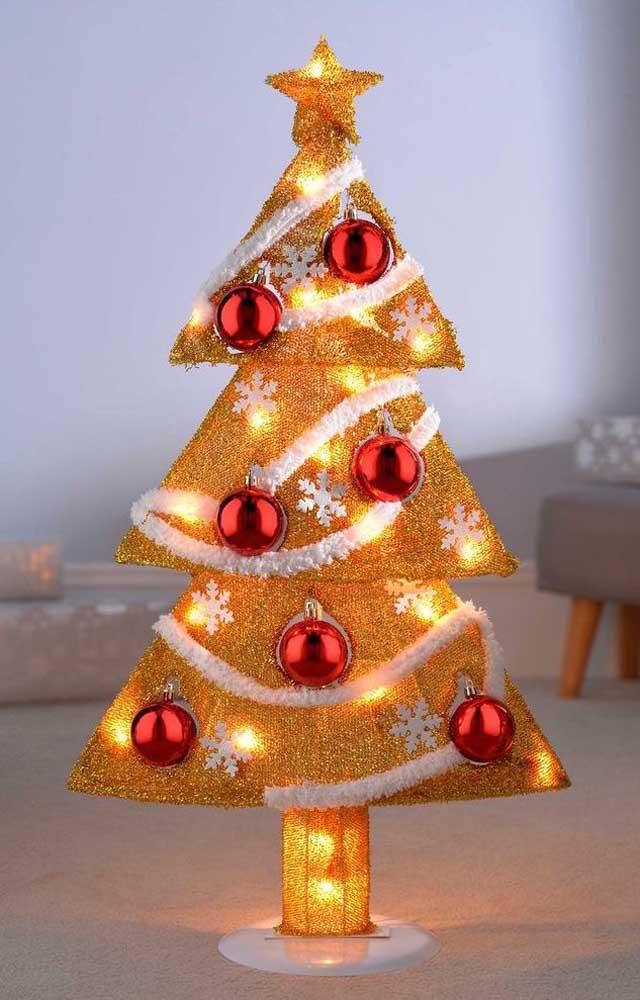É luminária ou árvore de natal? Os dois!