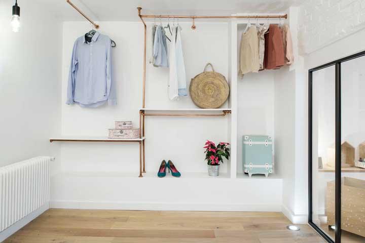 Closet de gesso: vantagens, desvantagens e fotos incríveis