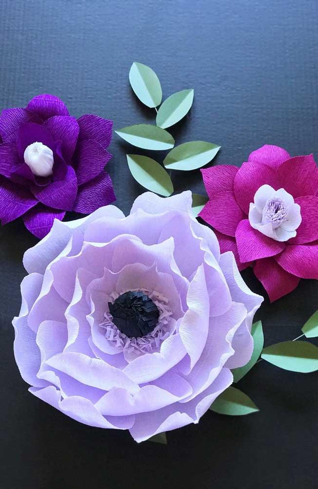 Escolha as cores que mais combinam com a sua decoração e mãos à obra!