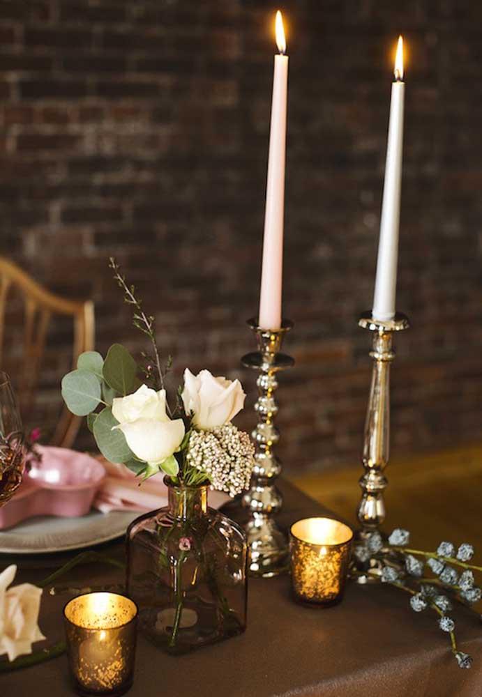 Que tal fazer um jantar à luz de velas no dia dos namorados?
