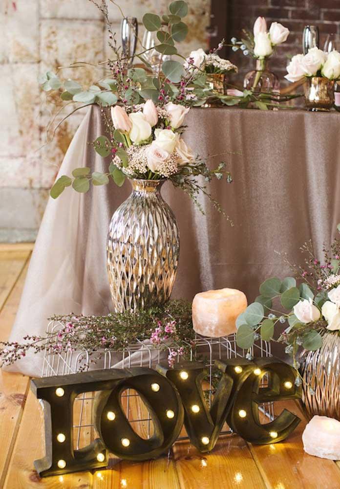 Uma bela decoração faz toda a diferença no dia dos namorados.
