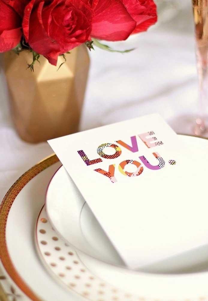 """Não há frase mais aguardada do que """"Eu amo você"""""""