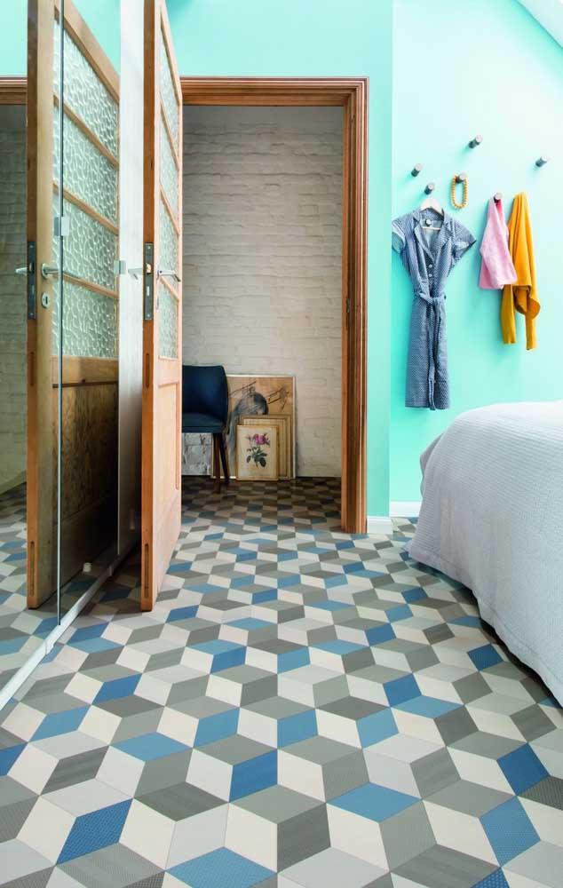 Que tal usar piso 3D na casa toda? A facilidade de limpeza é um grande atrativo