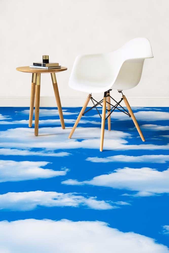 Aqui, a proposta é andar sobre nuvens, literalmente!