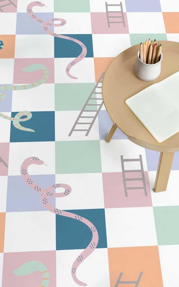 As crianças também podem se beneficiar dos efeitos incríveis do piso 3D