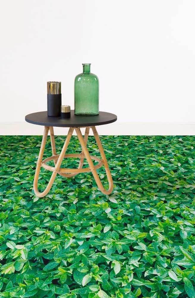 Traga a natureza para perto de você usando o piso 3D