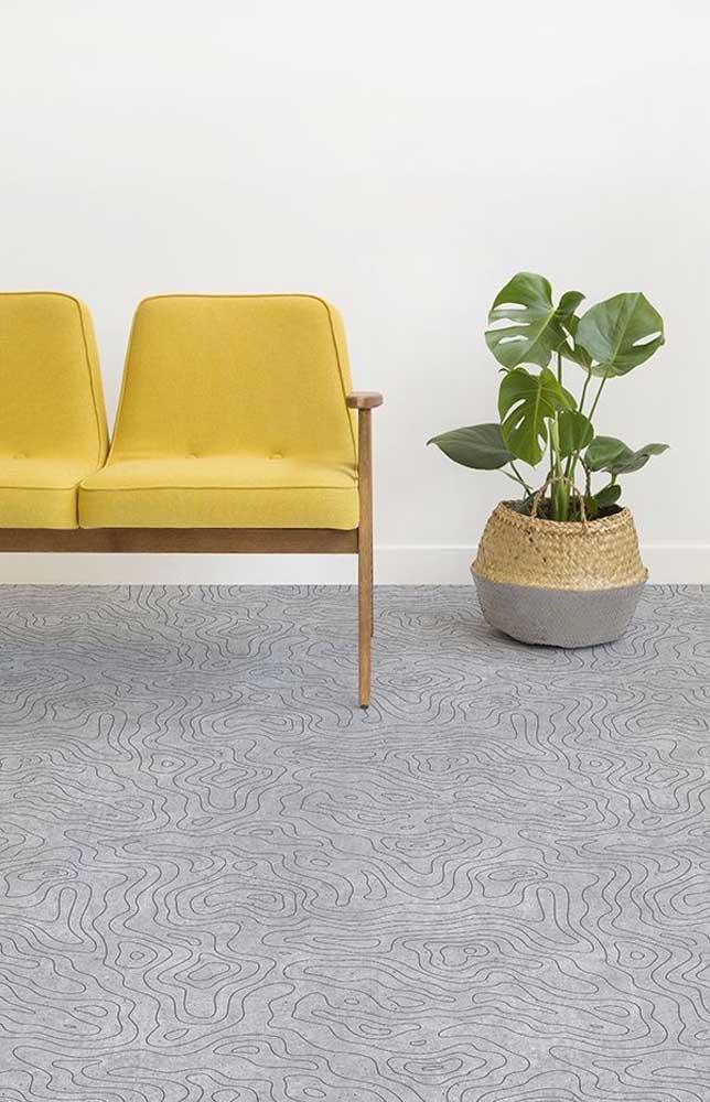 Quer um piso 3D discreto e bonito? Essa inspiração vale a pena