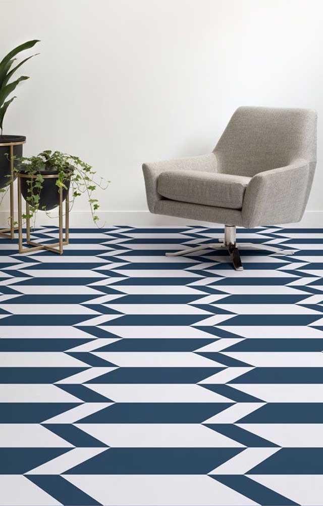 Amplitude é o termo que define a sensação provocada por esse piso 3D na sala