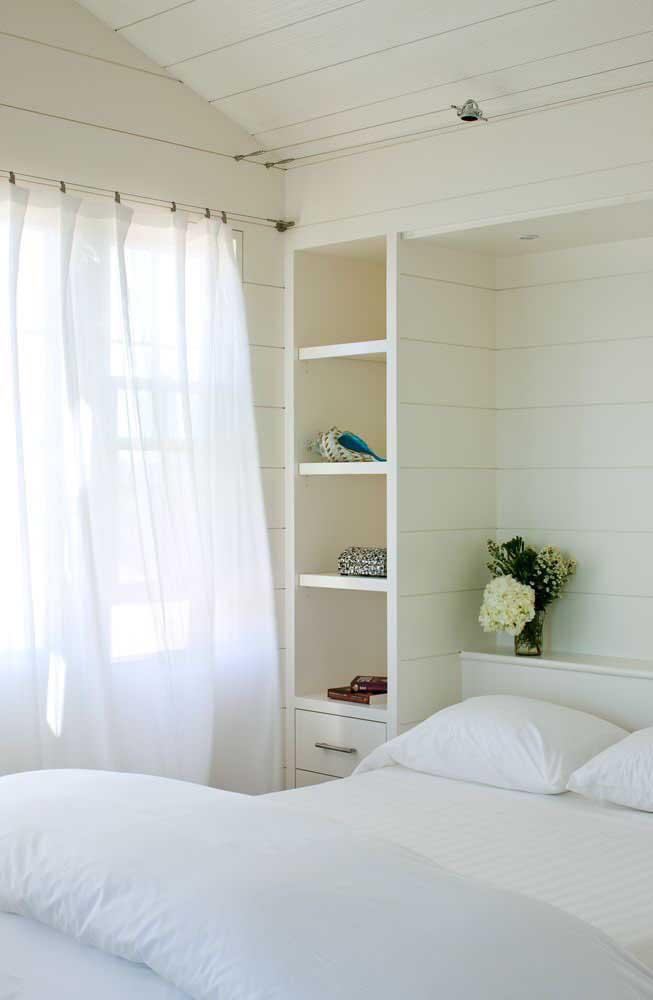 Topa um quarto pequeno decorado no estilo provençal?