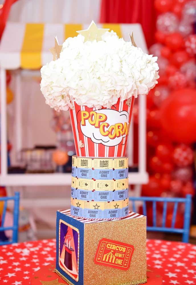 Você quer fazer um bolo tema circo completamente diferente e criativo? Se liga nessa ideia!