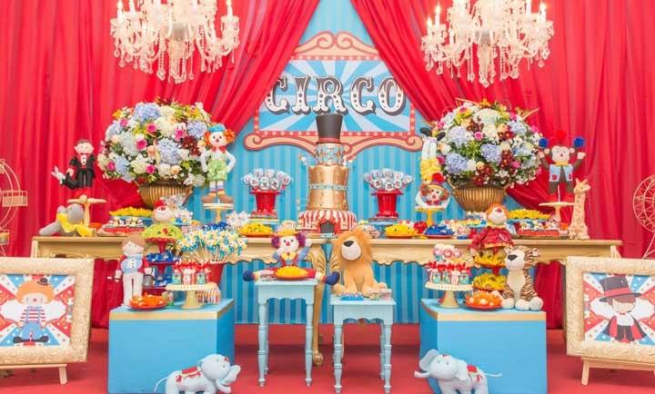Festa circo: dicas de decoração, organização, personagens e mais