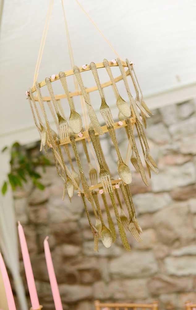 Uma inspiração divertida, irreverente e fácil de fazer para decorar o Chá Bar