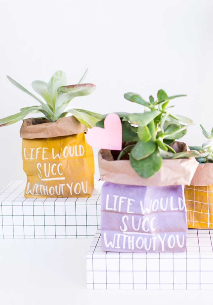 Se o seu (sua) amado (a) gosta de cuidar de plantas, nada melhor do que presenteá-lo (a) com uma muda da planta preferida dele (dela).