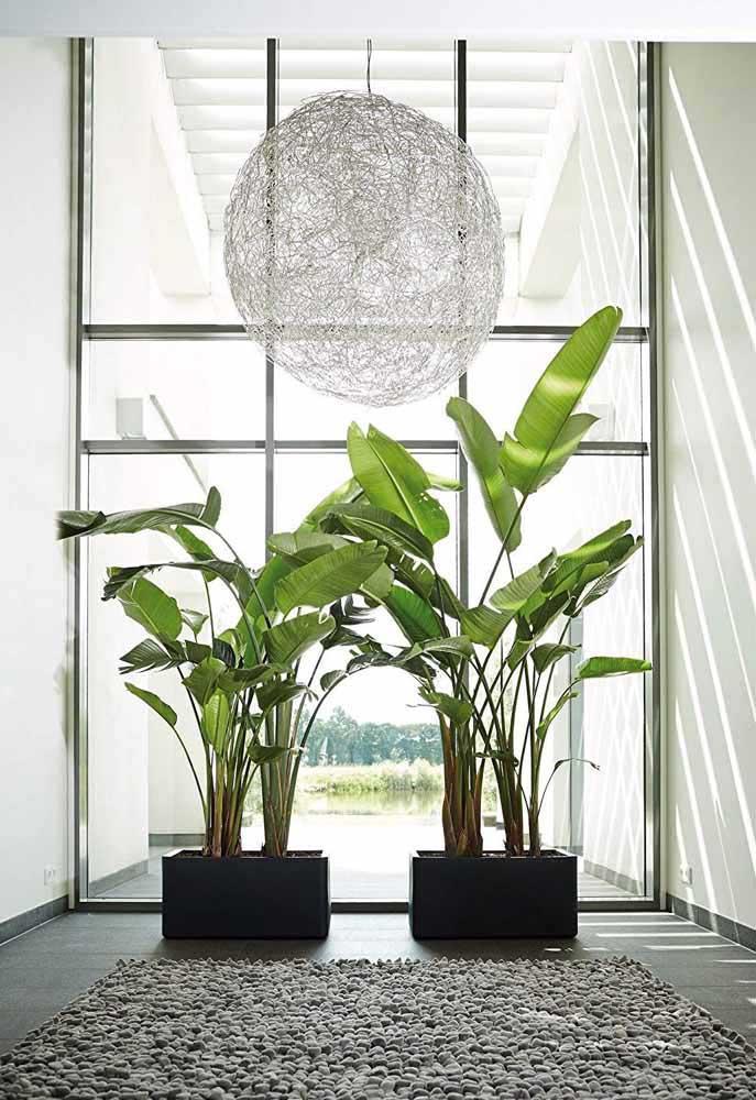 Escorredores de arroz e macarrão, aqui, se tornam vasos suspensos super criativos