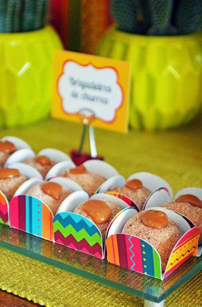 """Os tradicionais churros mexicanos ganharam uma nova forma nessa """"Festa no Céu"""""""