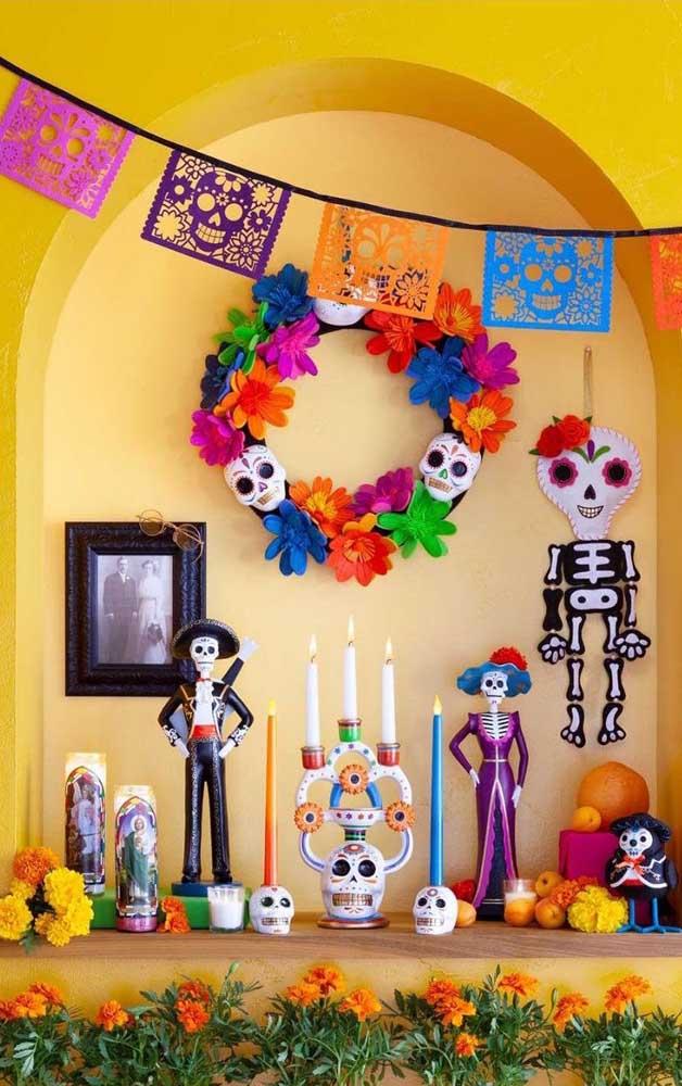 Um Dia de Los Muertos que não assusta ninguém, pelo contrário, aqui é pura alegria e diversão
