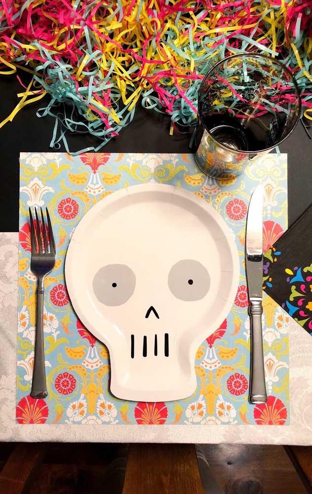 """Os pratos também se renderam ao charme da decoração """"Festa no Céu"""""""