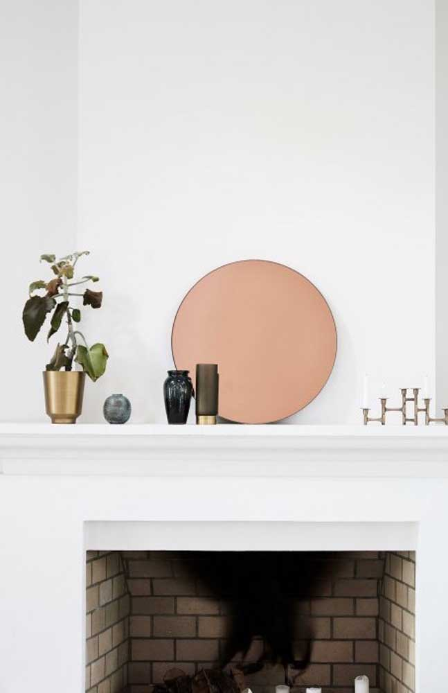 O espelho bronze pode se tornar o principal elemento decorativo do ambiente