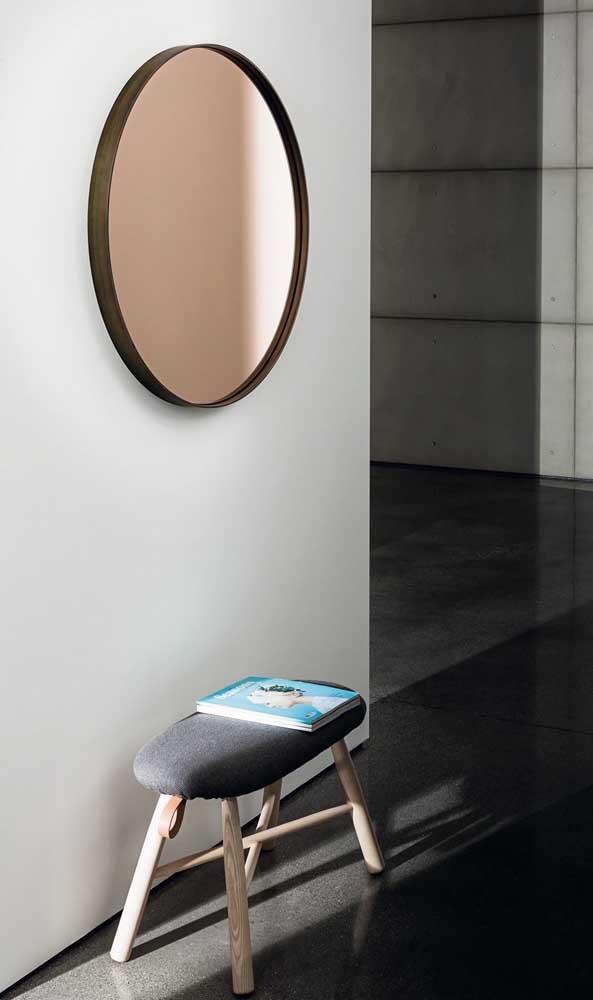 A prova de que um hall de entrada pode ser simples, bonito, funcional e moderno está aqui