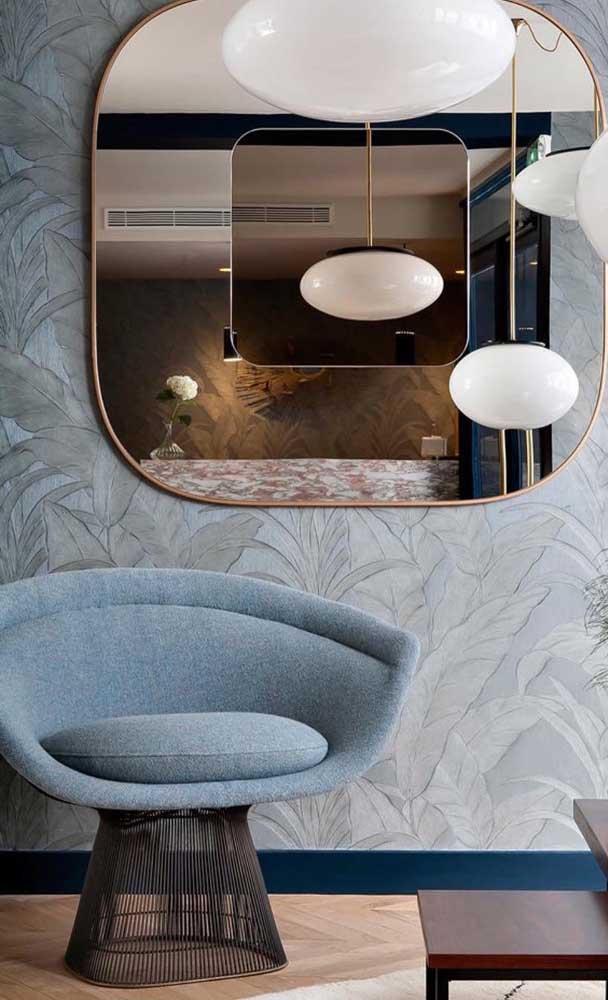 Tire vantagem da aura elegante e sofisticada do espelho bronze