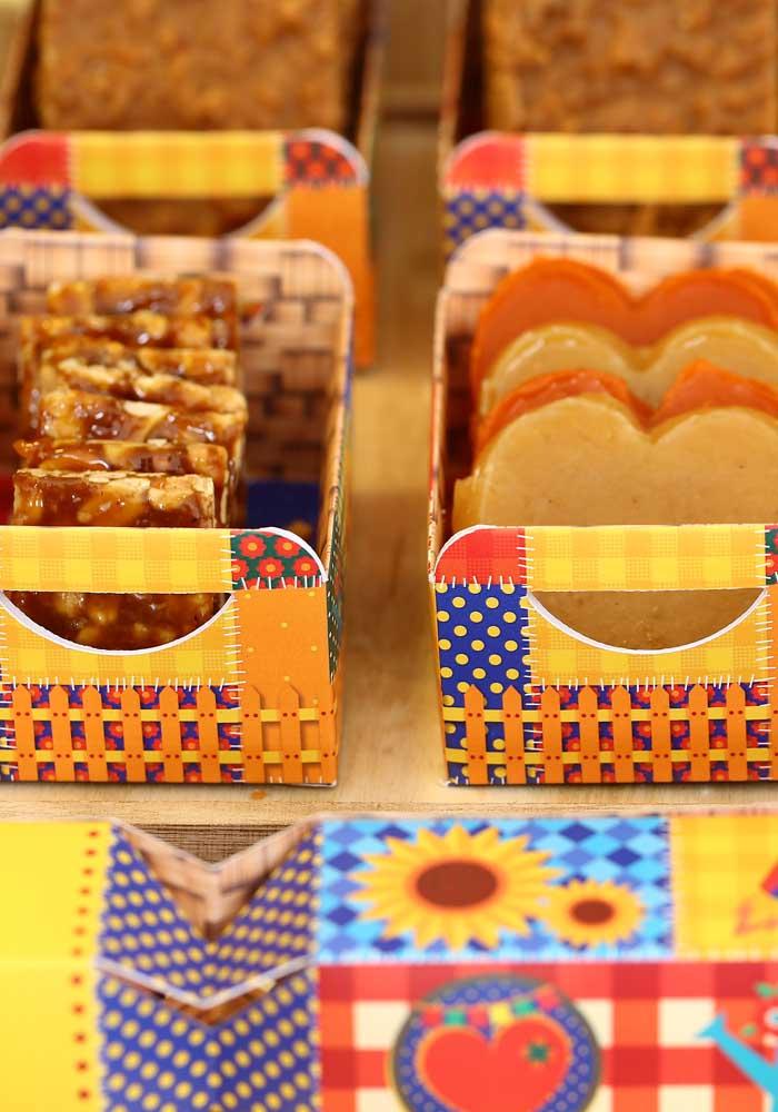 As principais guloseimas de festa junina não podem faltar no aniversário.