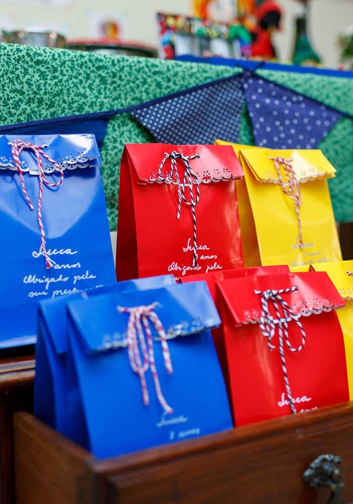 Já sabe como vai embalar as lembrancinhas da festa junina?