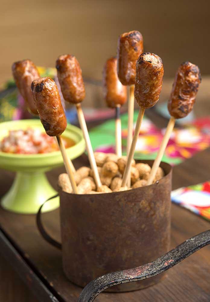 Olha que opção deliciosa para servir na festa junina.