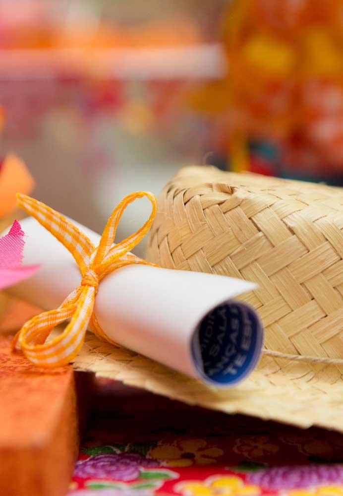 A mistura de elementos decorativos é que faz a grande diferença na decoração da festa junina.