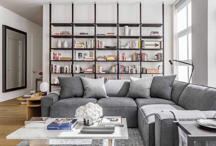 Biblioteca em casa: como montar e 60 imagens inspiradoras
