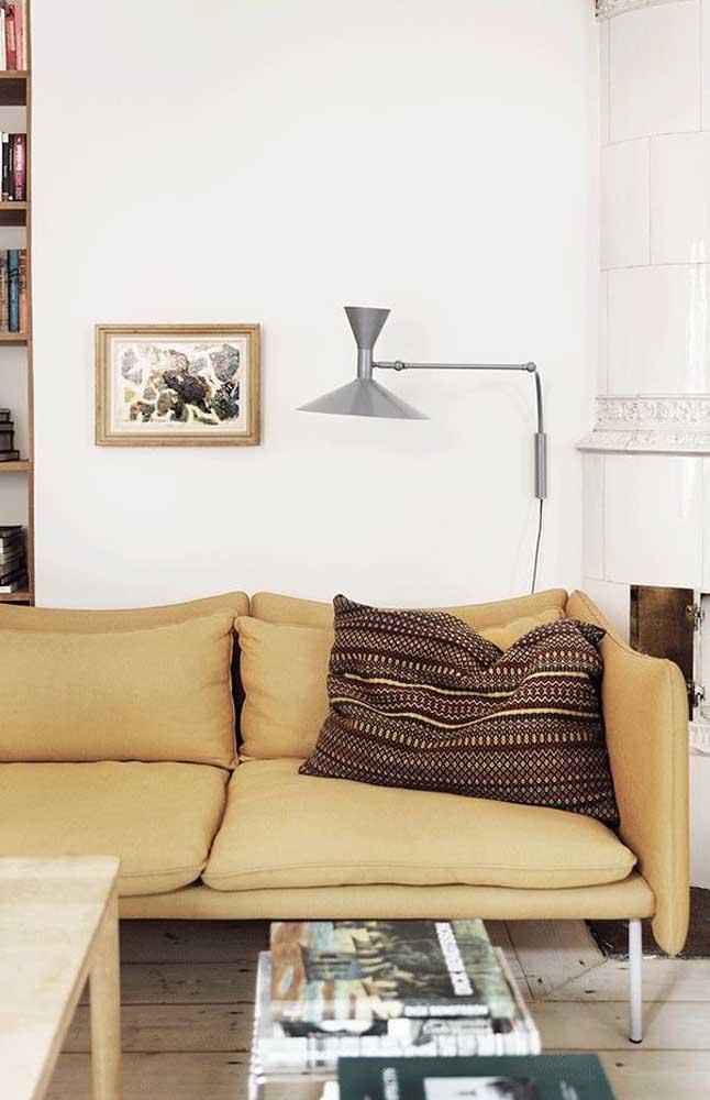Combinar tons de marrom com a cor marfim é certeza de uma decoração apaixonante