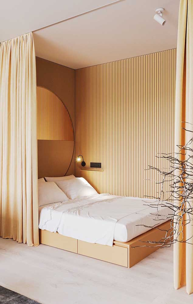 Muito próxima aos tons de madeira, a cor marfim é a opção certeira para quem deseja decorar com conforto e aconchego