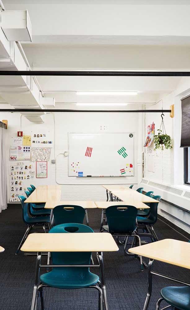 Uma configuração diferenciada para a sala de aula como forma de estimular o aprendizado dos alunos