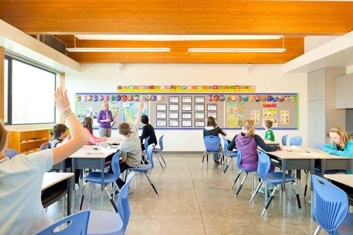 Na hora de planejar o espaço da sala de aula, considere a possibilidade de agrupar os alunos