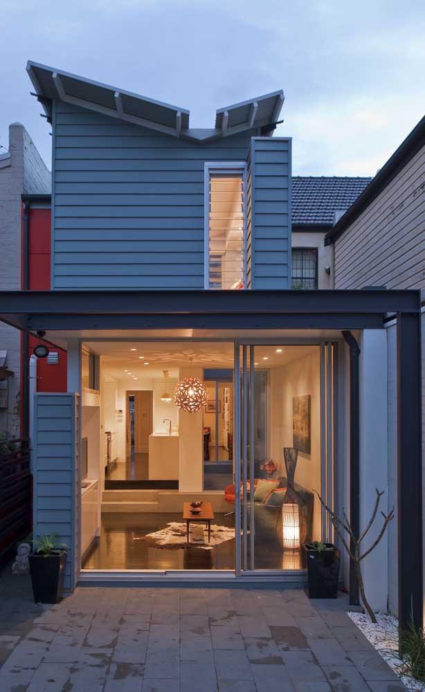 Casa duplex em estilo container: rapidez, economia e estética em um só projeto