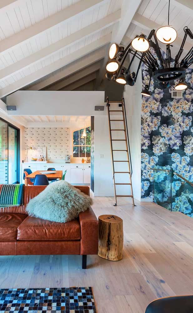 Contemporânea e muito charmosa, essa casa duplex une conforto e aconchego como ninguém