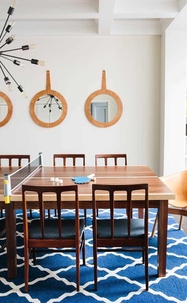 1,2,3: quantos espelhos você gostaria de ter na sua sala de jantar?