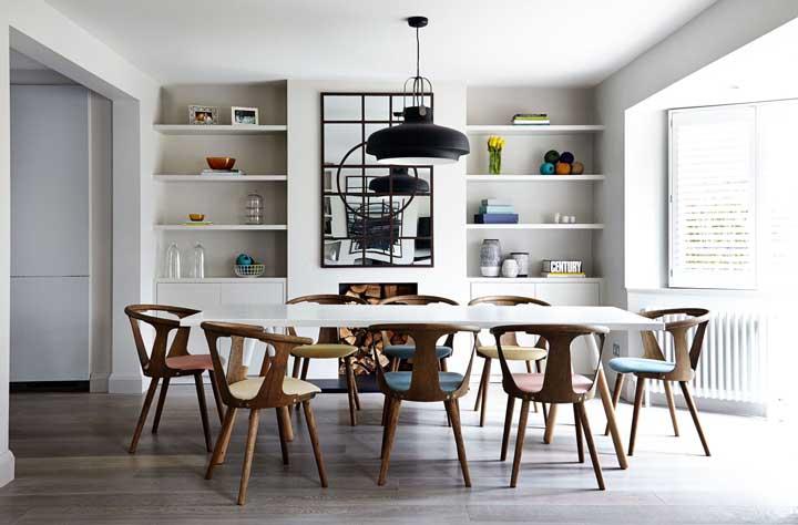 Espelho para sala de jantar: como escolher, dicas e inspirações